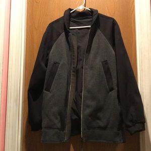 Black Lululemon zipper up jacket